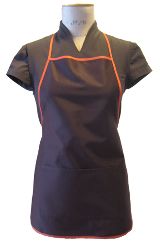 Description: C:\Users\user\Documents\Catherine Moore Uniforms\Website\LT2458_Coffee_Apron_500.jpg